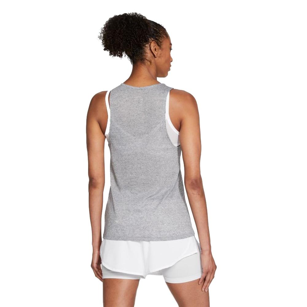 Nike City Sleek Trail Singlet Dame Grå