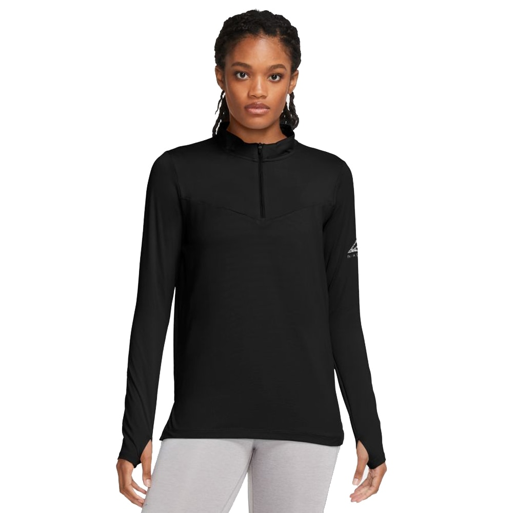 Nike Element Trail Midlayer Løpegenser Dame Sort
