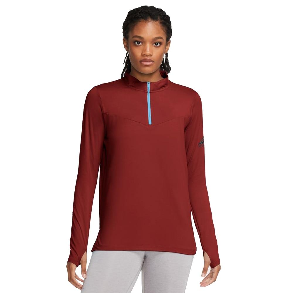 Nike Element Trail Midlayer Løpegenser Dame Brun