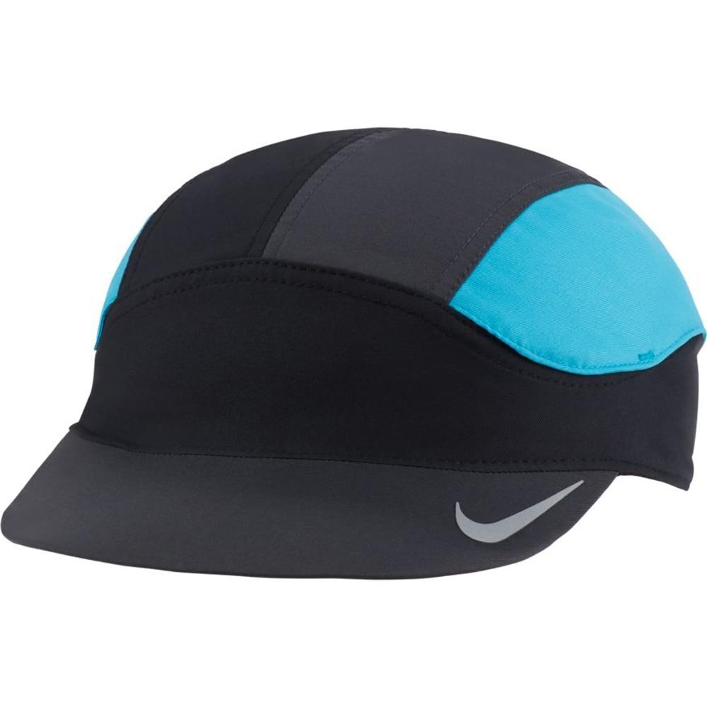 Nike Dri-Fit Tailwind Fast Caps Sort/Blå