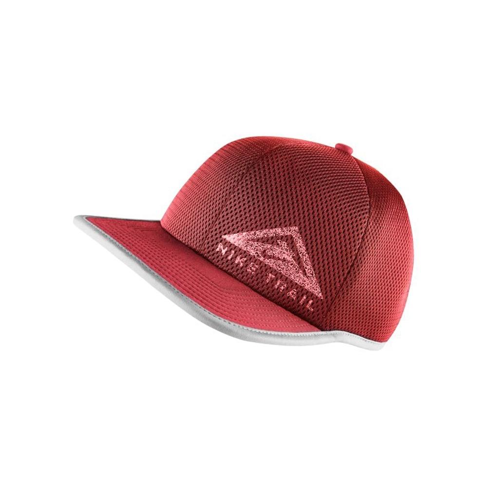 Nike Dry Pro Trail Caps Burgunder