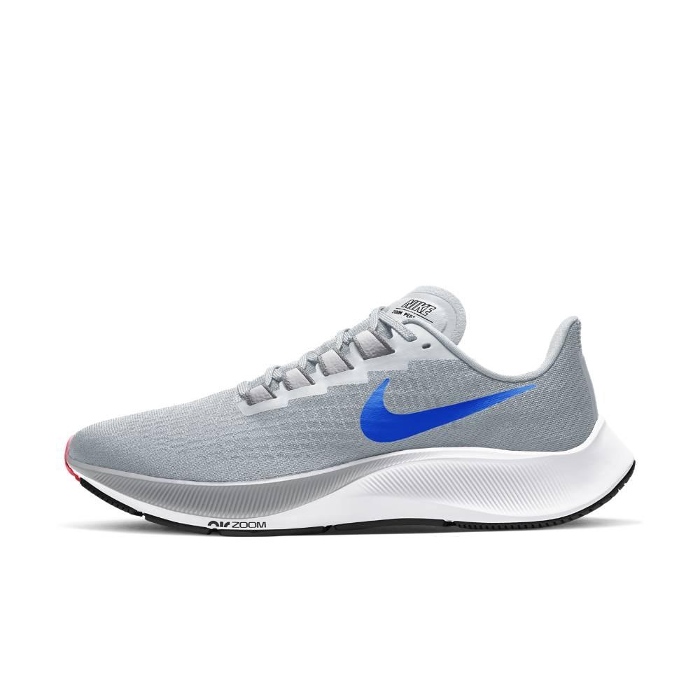 Nike Air Zoom Pegasus 37 Joggesko Herre Lysegrå