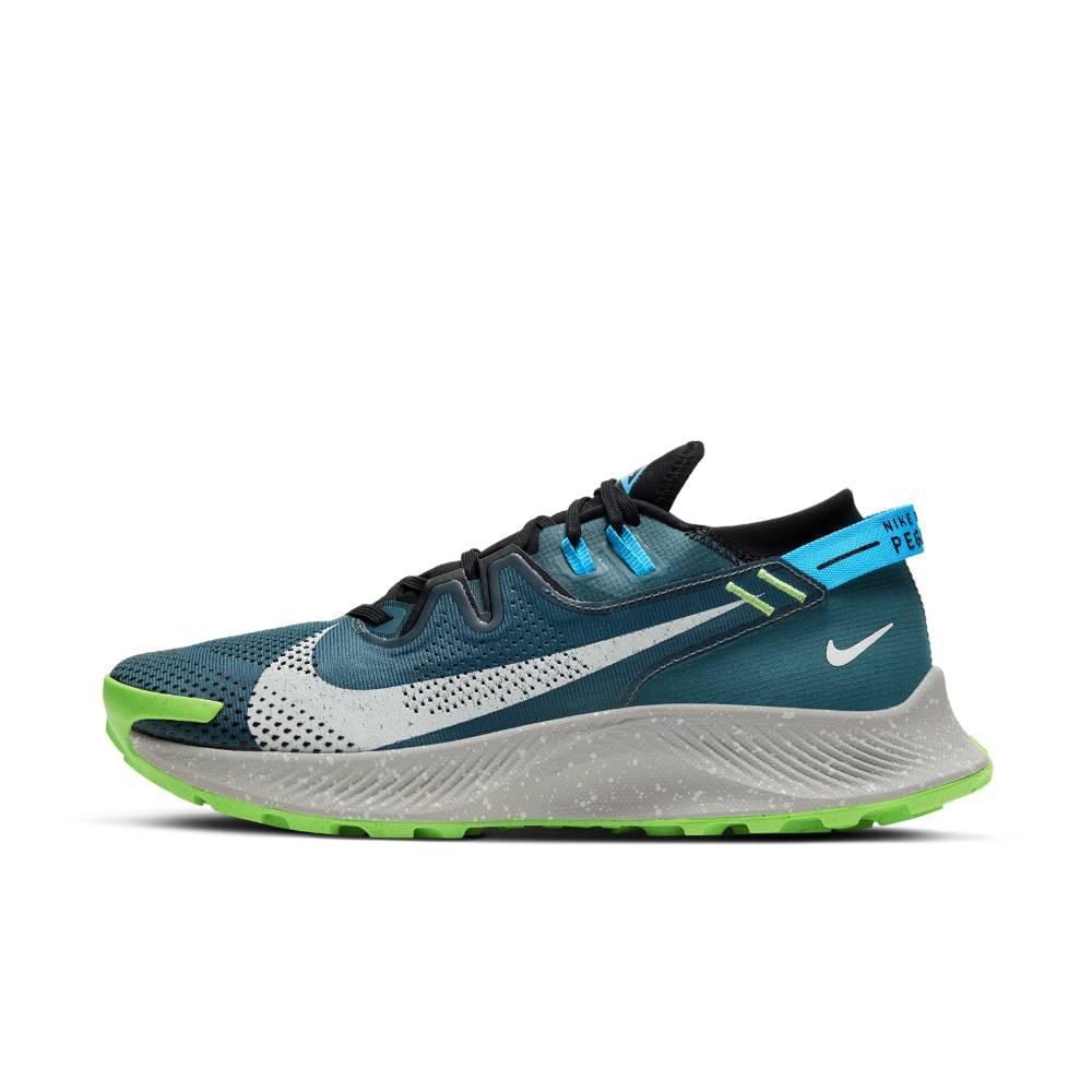 Nike Pegasus Trail 2 Joggesko Herre Grønn/Blå
