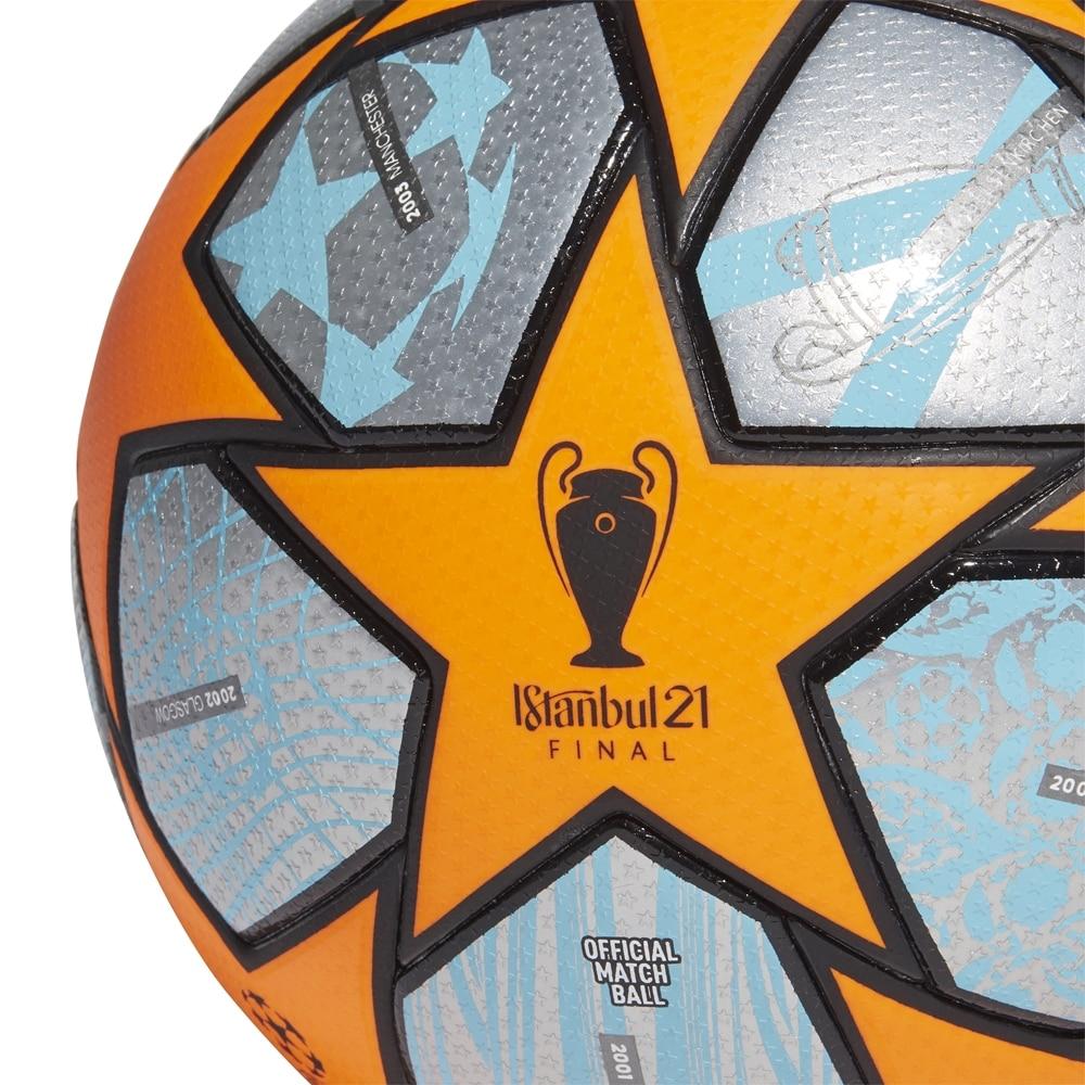 Adidas Champions League Offisiell Matchball 21 Fotball Grå/Oransje