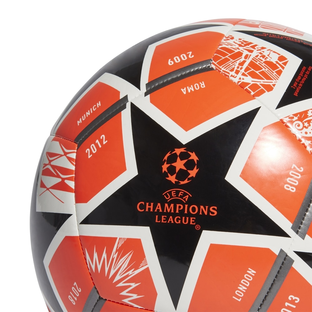 Adidas Champions League Finale 21 Club Fotball Oransje/Sort
