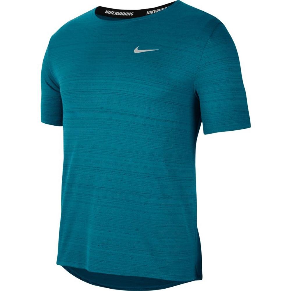 Nike Dry Miler Løpetrøye Herre Turkis