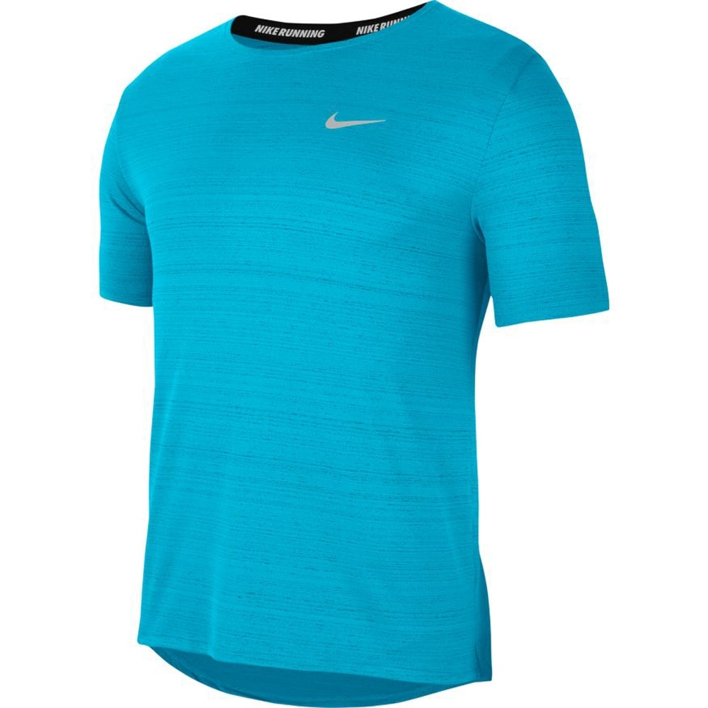 Nike Dry Miler Løpetrøye Herre Lyseblå