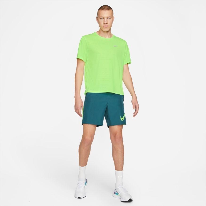 Nike Dry Miler Løpetrøye Herre Volt
