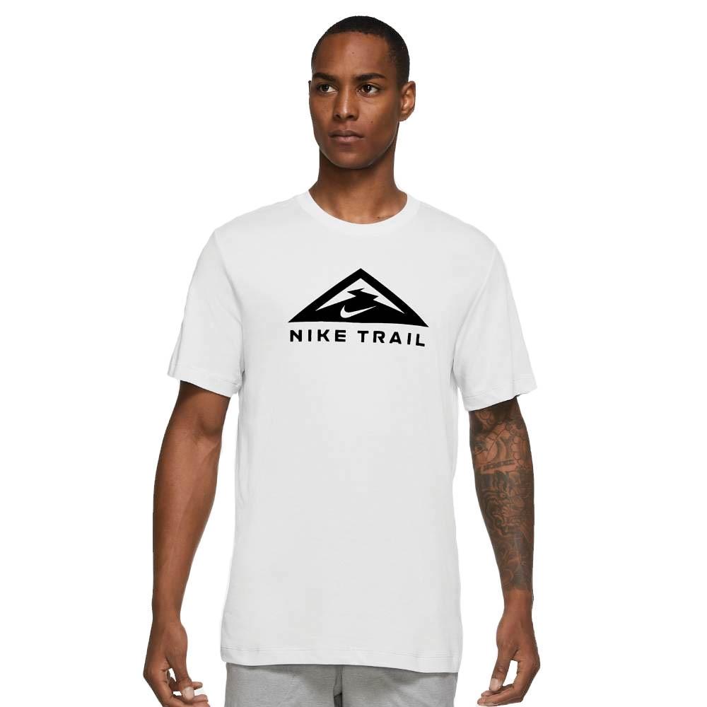 Nike Dri-FIT Trail Treningstrøye Herre Hvit