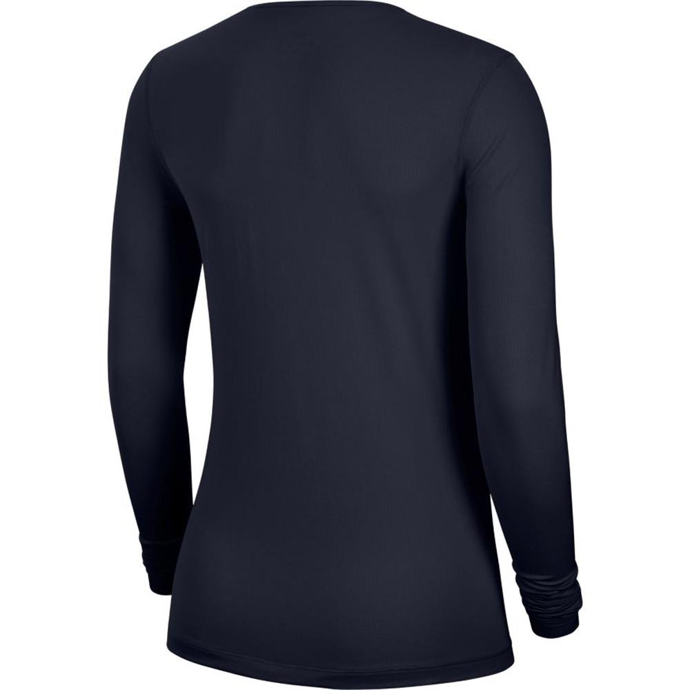 Nike Pro Mesh Langermet Treningstrøye Dame Marine