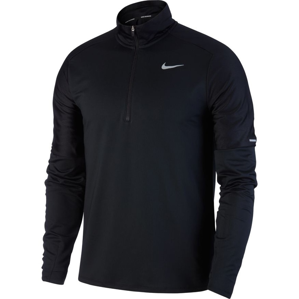 Nike Element Half-Zip Løpetrøye Herre Sort