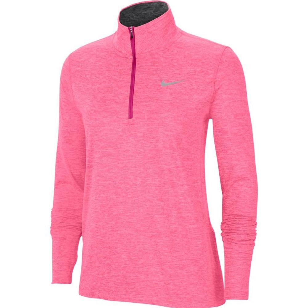 Nike Element Half-Zip Løpetrøye Dame Rosa