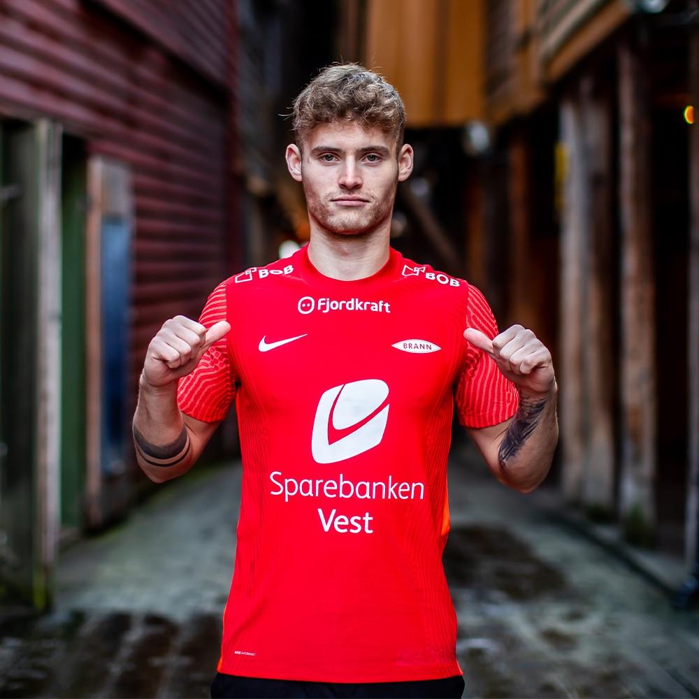 Nike SK Brann Fotballdrakt Hjemme 2021 Barn