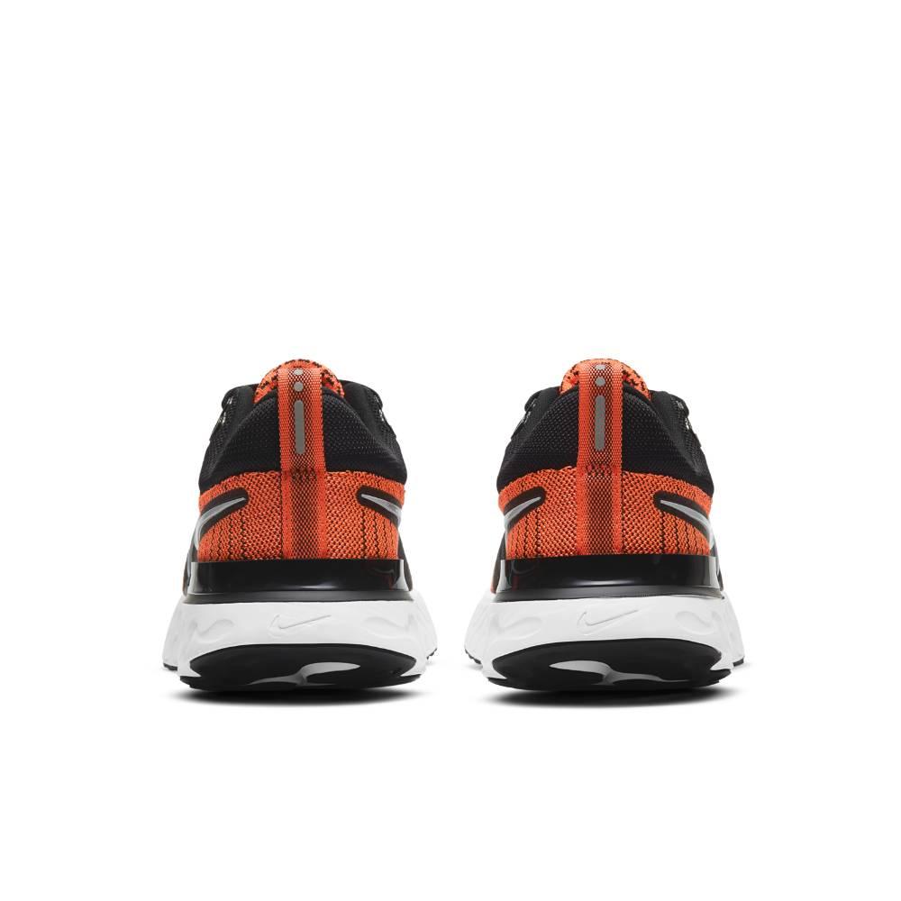 Nike React Infinity Run Flyknit 2 Joggesko Dame Oransje/Sort