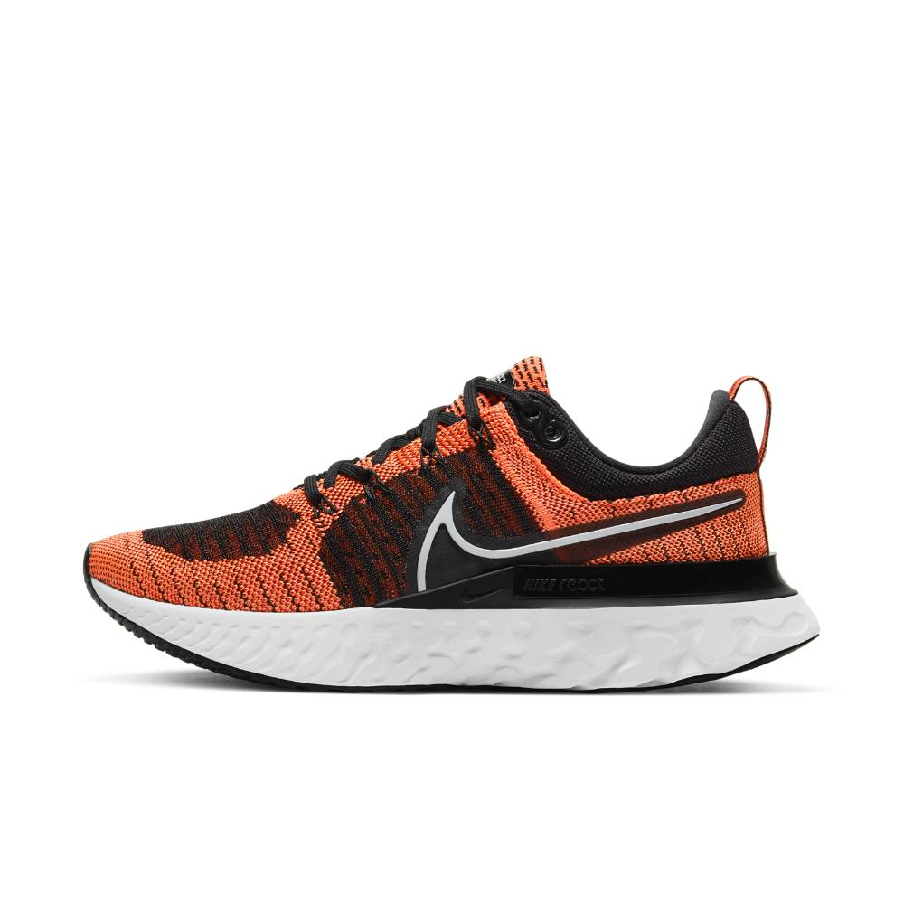Nike React Infinity Run Flyknit 2 Joggesko Dame Oransje/Sort