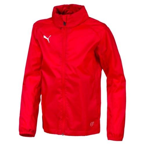 Puma Liga Training Core Regnjakke Barn Rød