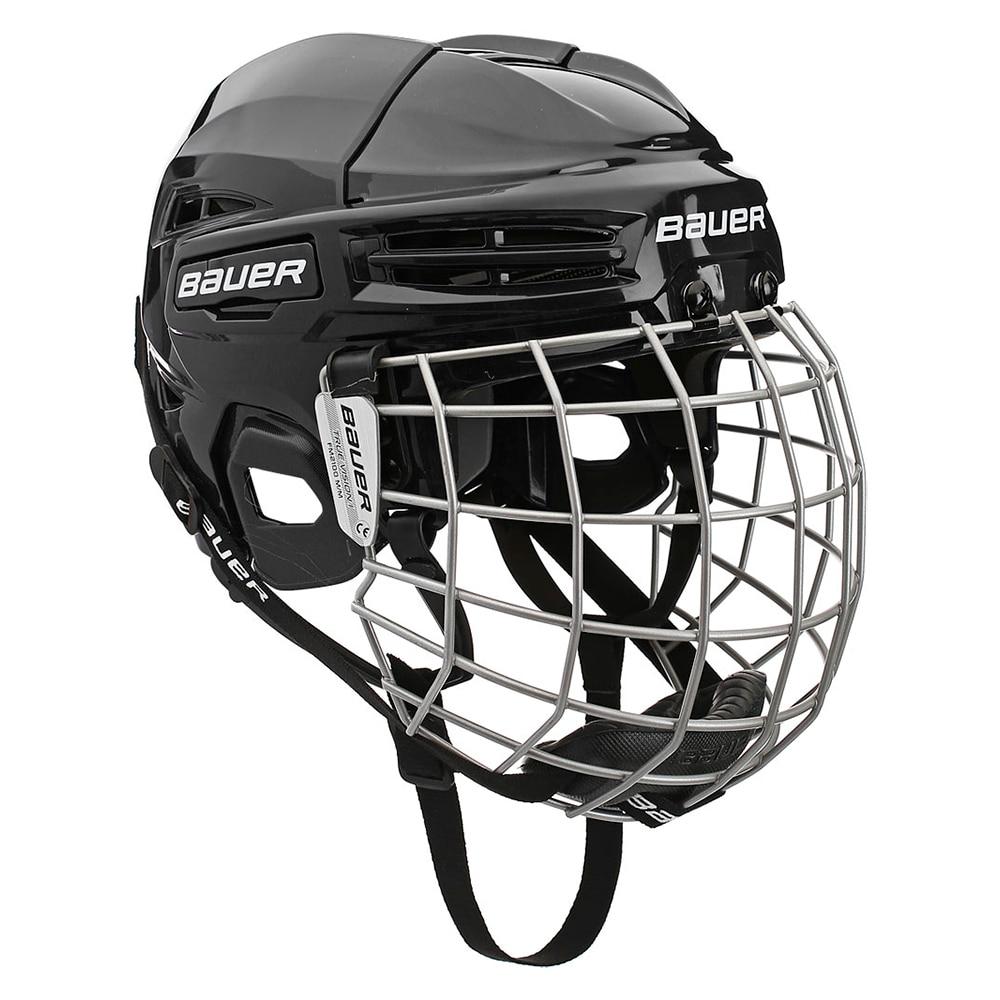Bauer IMS 5.0 Combo Hockeyhjelm Svart