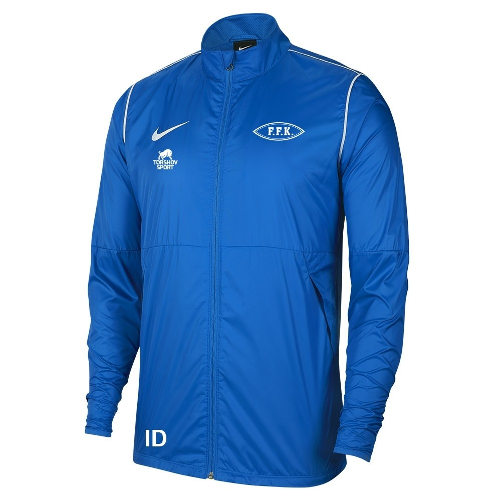 Nike Follese FK Regnjakke Blå Barn