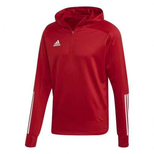 Adidas Condivo 20 Treningsgenser m/hette Barn Rød