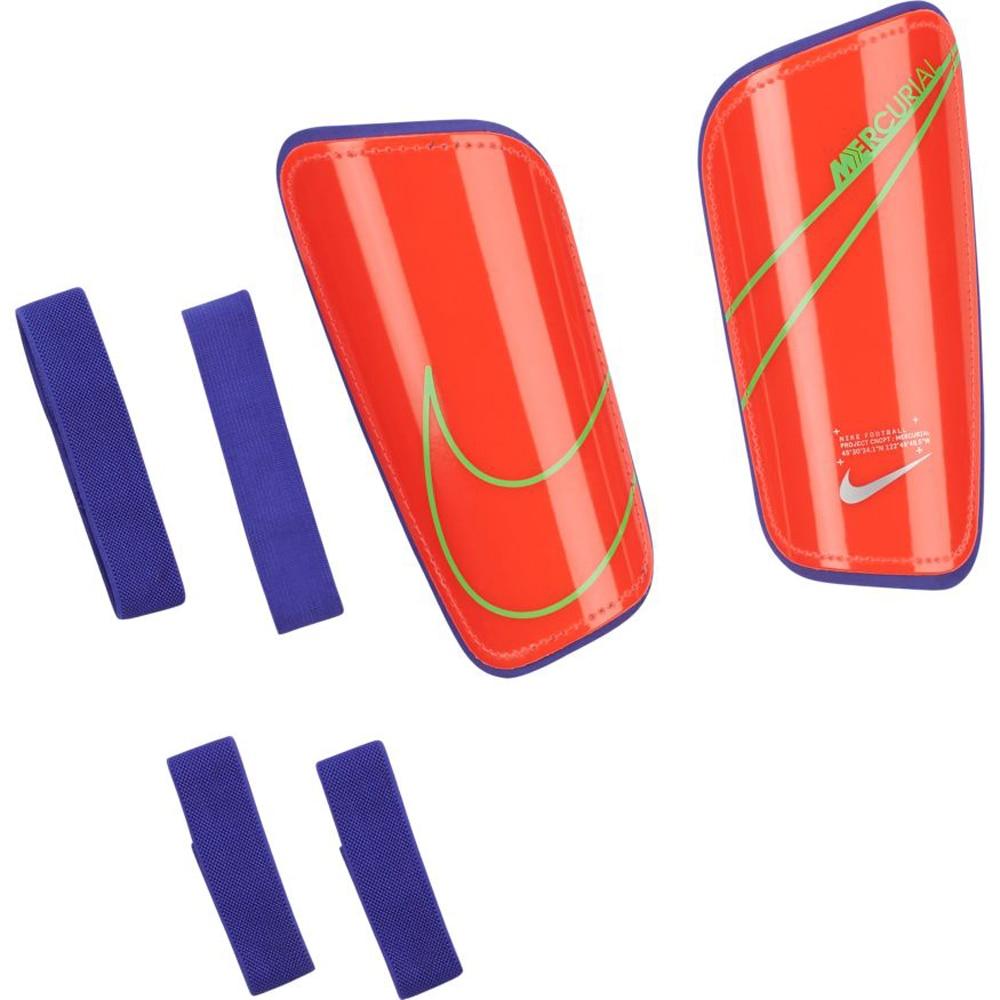 Nike Mercurial Hard Shell Slip-In Leggskinn Rød