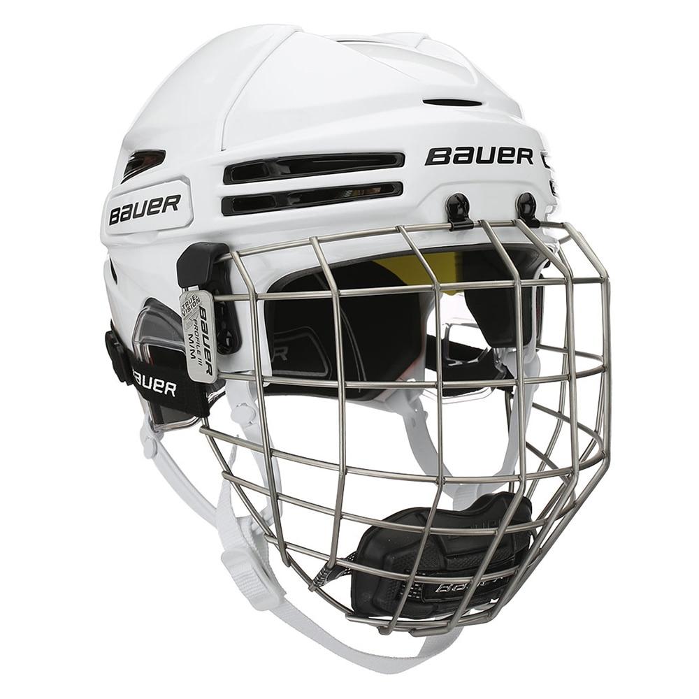Bauer RE-AKT 75 Combo Hockeyhjelm Hvit