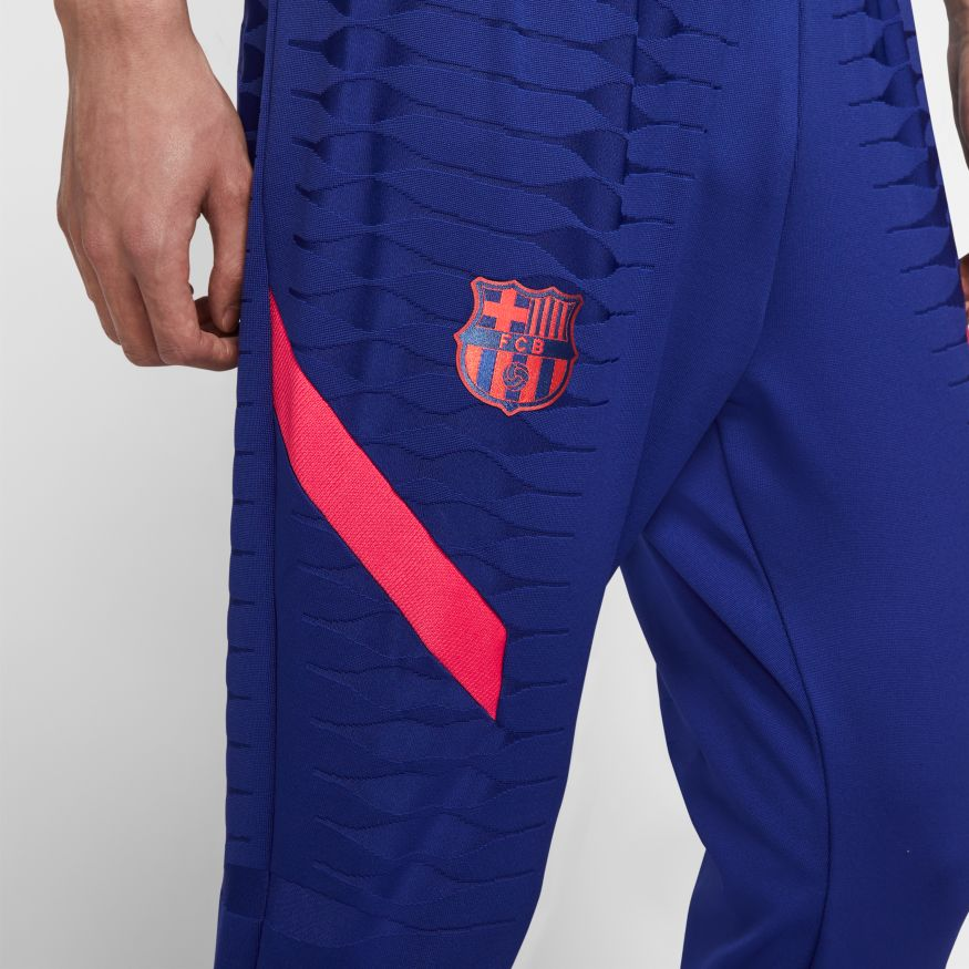 Nike FC Barcelona Vaporknit Strike Fotballbukse 20/21 Marine