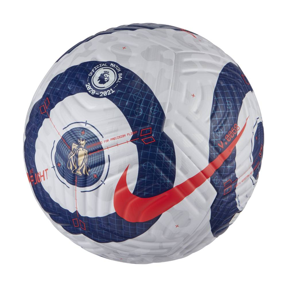 Nike Flight Premier League Matchball Fotball 2020/21 Hvit/Blå