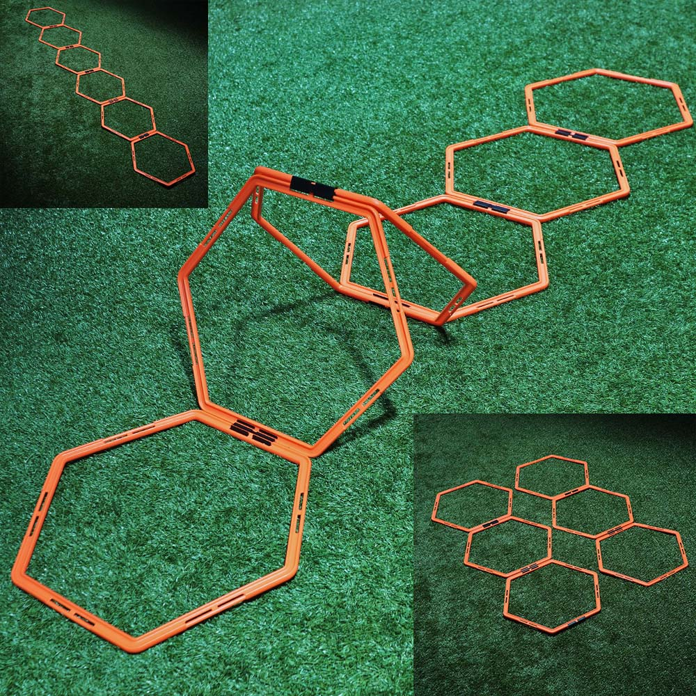 Sport Direkt Hexagonal Agility Stige