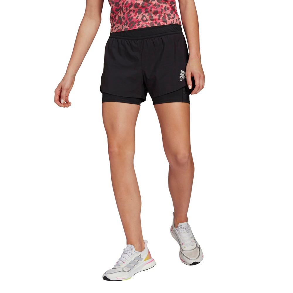 Adidas Fast Primeblue 2-in-1 Løpeshorts Dame