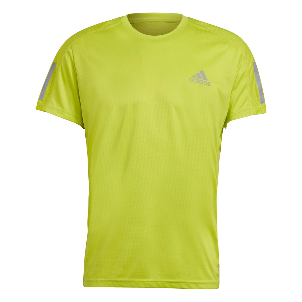Adidas Own The Run Kortermet Løpetrøye Gul
