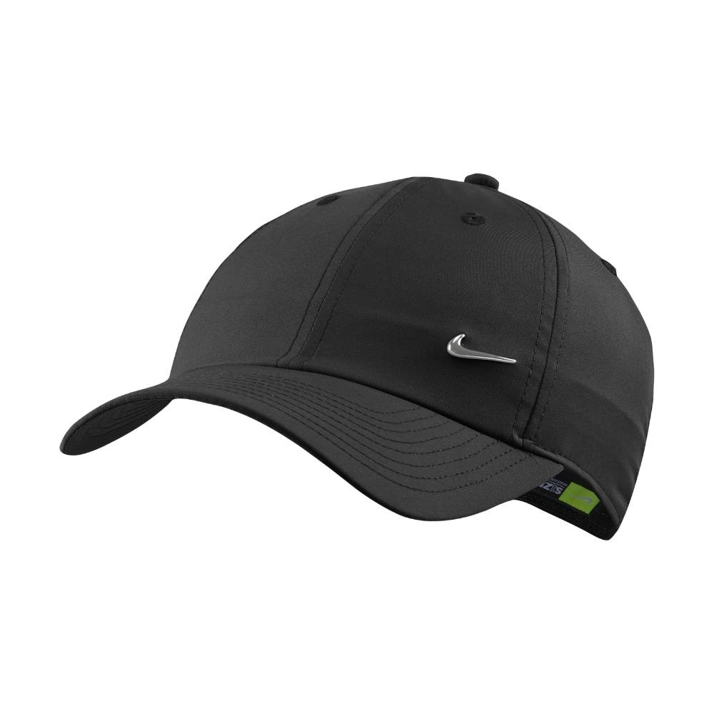 Nike NSW H86 Metal Swoosh Caps Sort