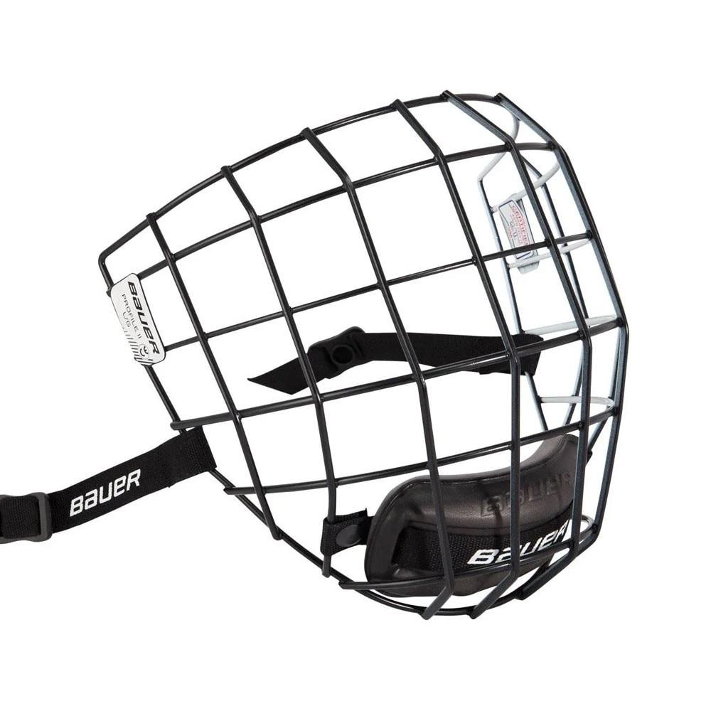 Bauer Profile II Hockeyhjelm Gitter Svart/Hvit