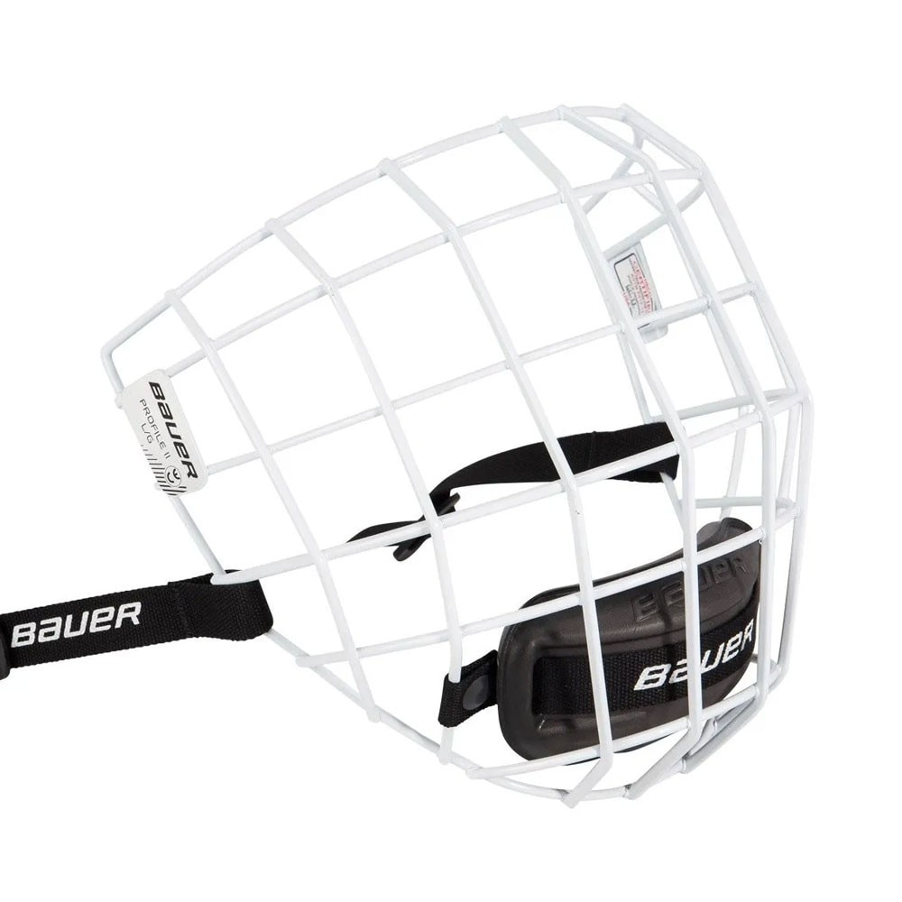 Bauer Profile II Hockeyhjelm Gitter Hvit