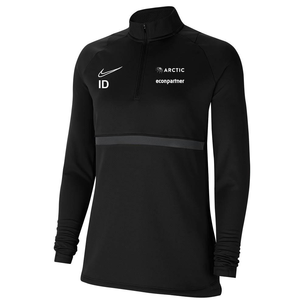 Nike Heming Fotball Treningsgenser Dame Sort