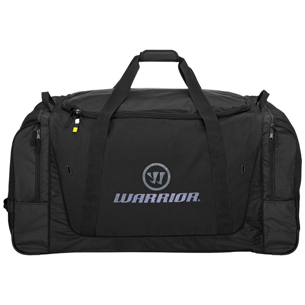 Warrior Q20 Cargo Hockeybag med hjul Svart