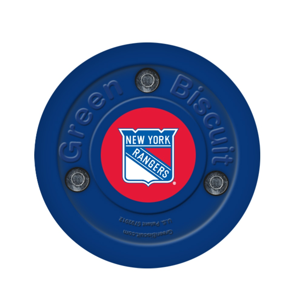 Green Biscuit Teknikk Puck New York Rangers