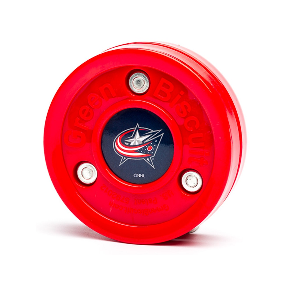 Green Biscuit Teknikk Puck Columbus Blue Jackets