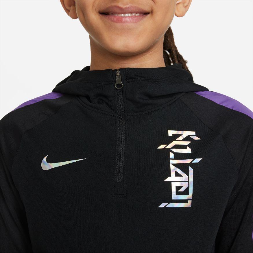 Nike Kylian Mbappé Dry Hettegenser Barn