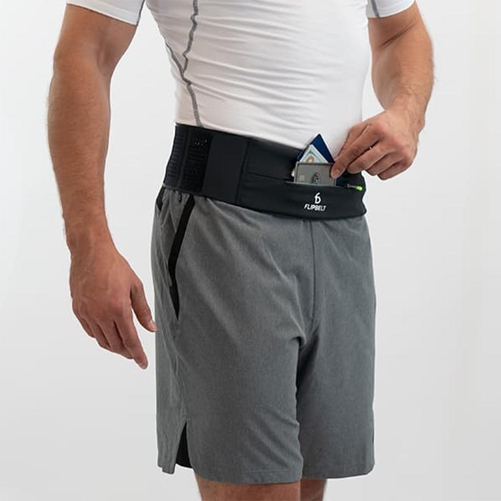 FlipBelt Adjustable Belte Sort