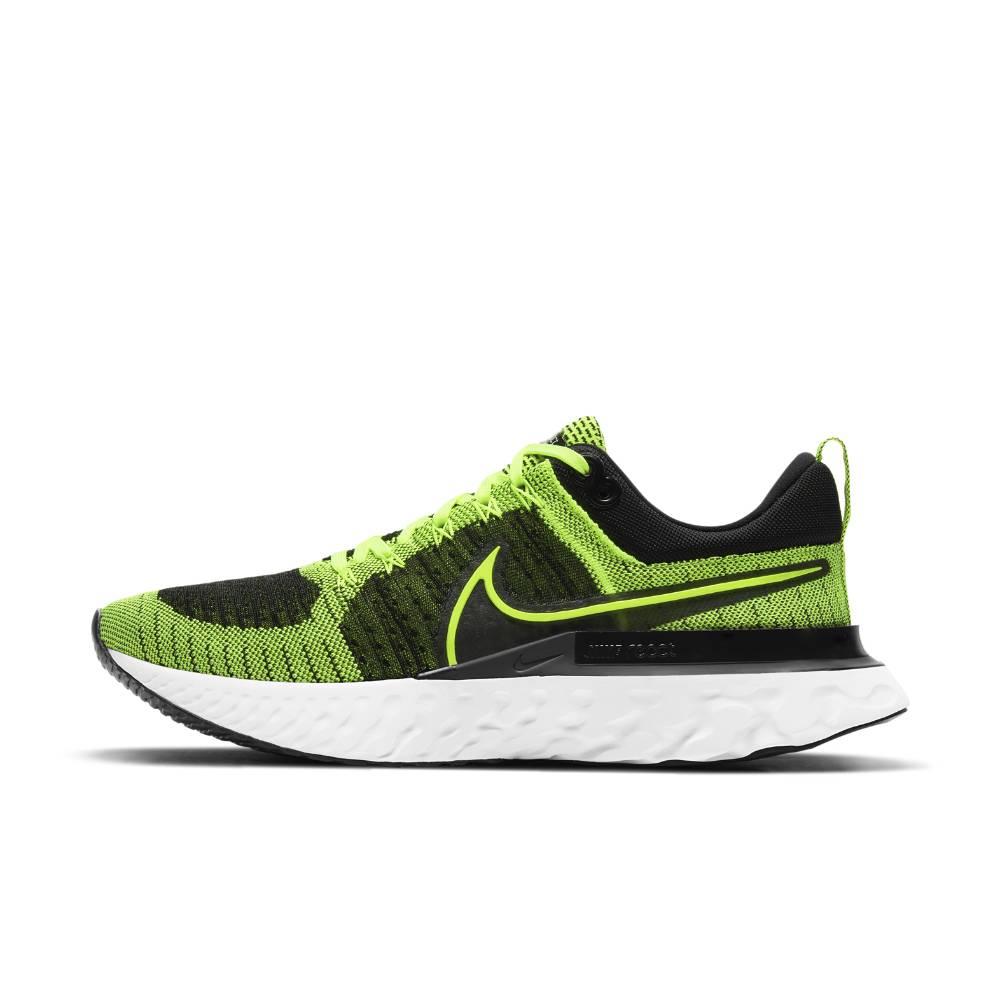 Nike React Infinity Run Flyknit 2 Joggesko Herre Grønn/Sort