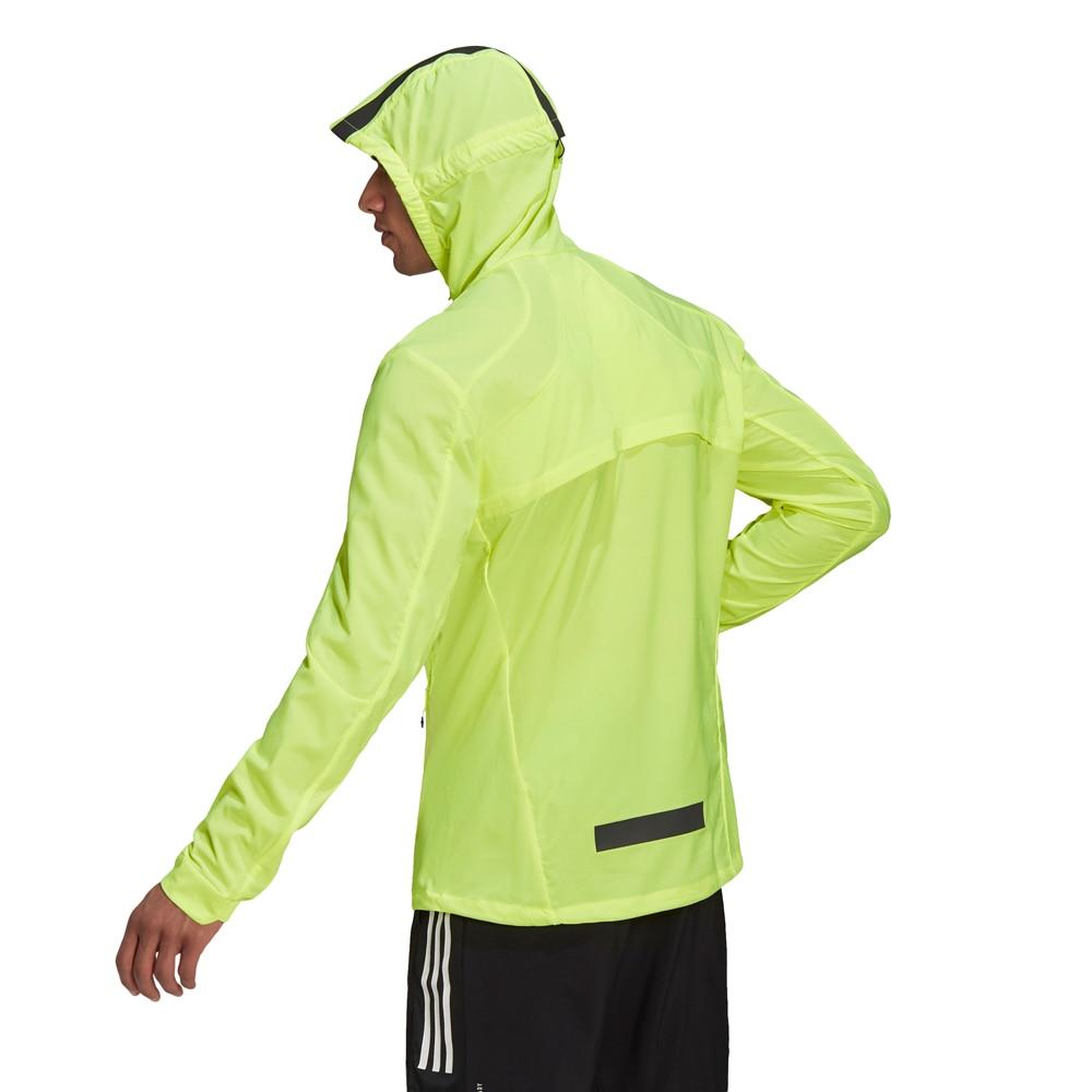 Adidas Marathon Translucent Løpejakke Herre Volt
