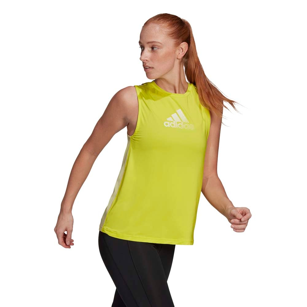 Adidas Designed To Move Løpesinglet Dame Gul