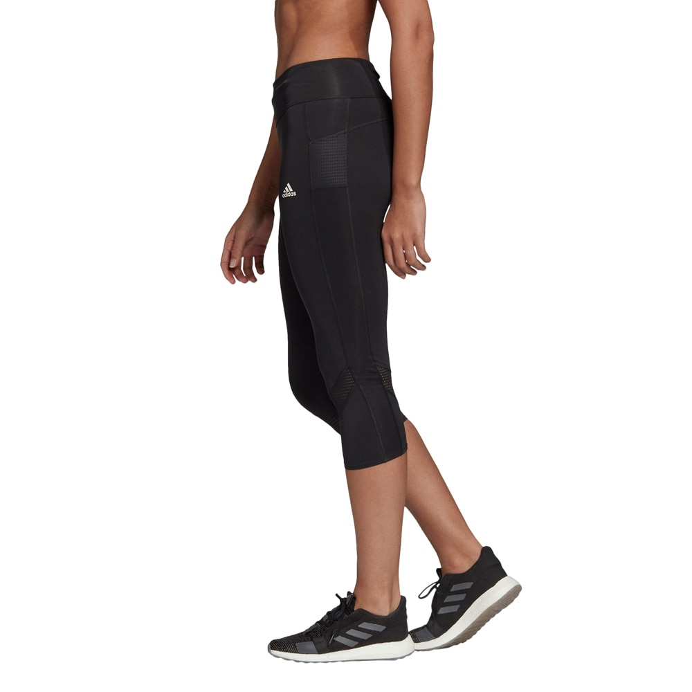 Adidas Own The Run 3/4 Tights Dame Sort