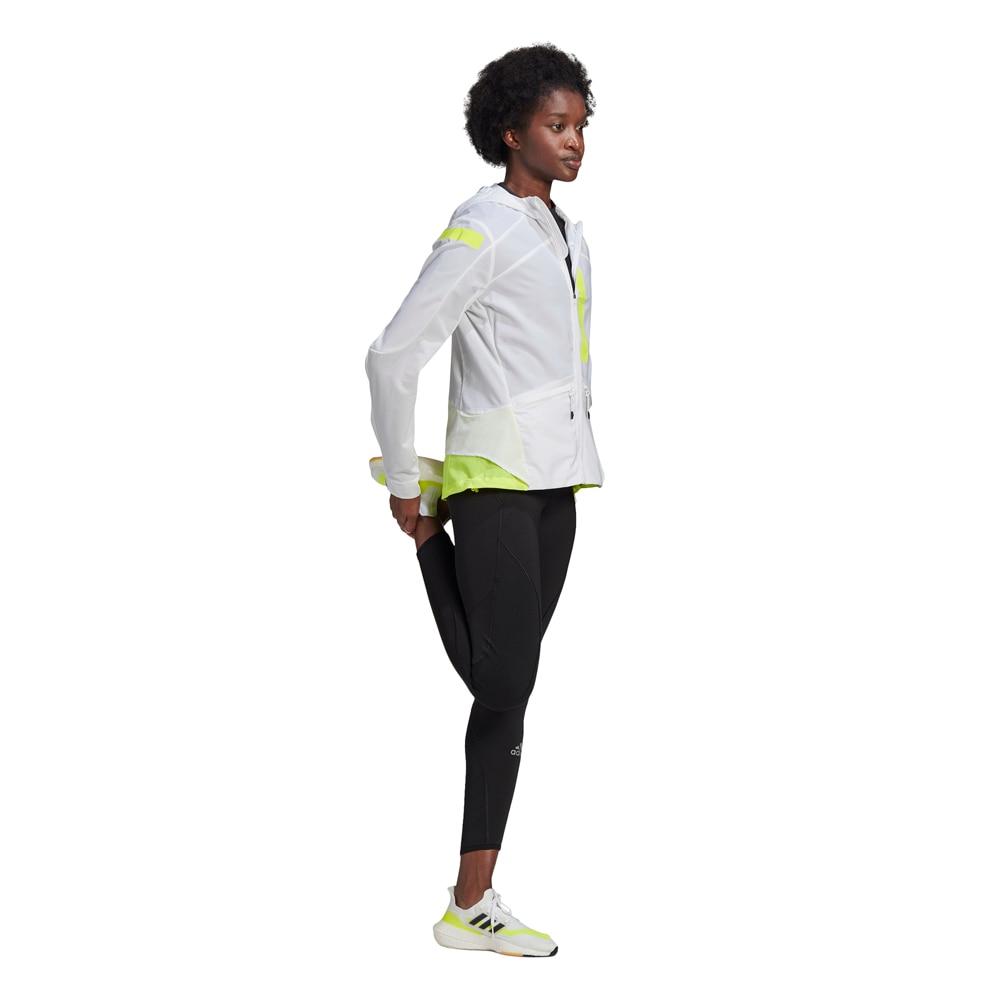 Adidas Marathon Translucent Løpejakke Dame Hvit