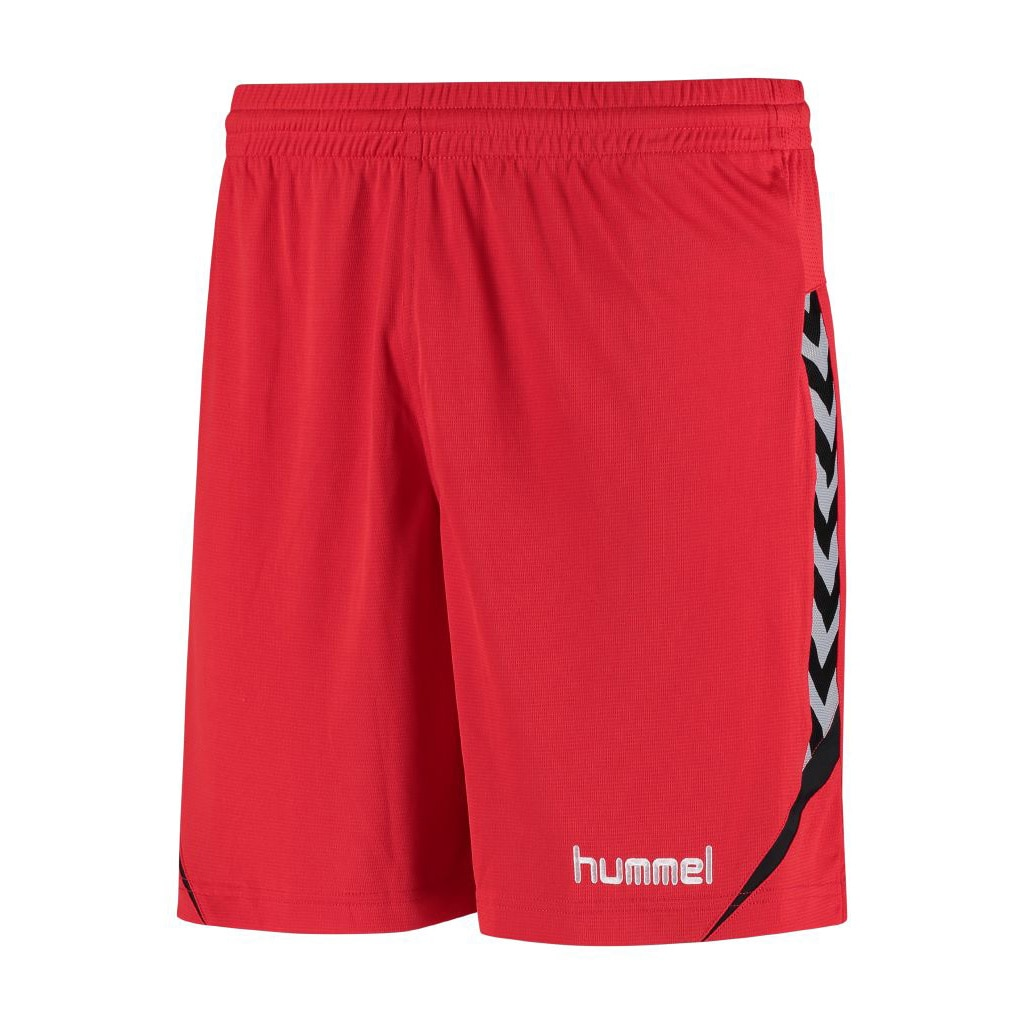 Hummel Authentic Charge Poly Shorts Barn Rød