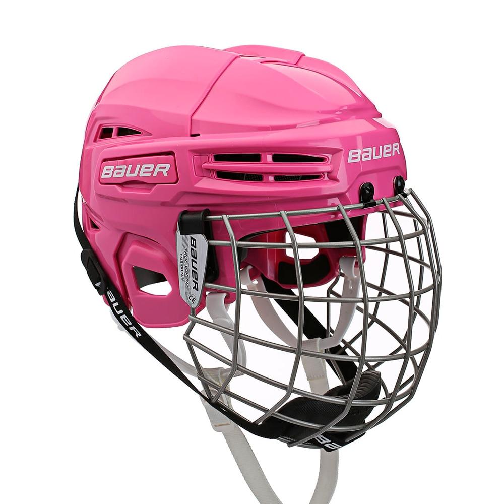 Bauer IMS 5.0 Combo Hockeyhjelm Rosa