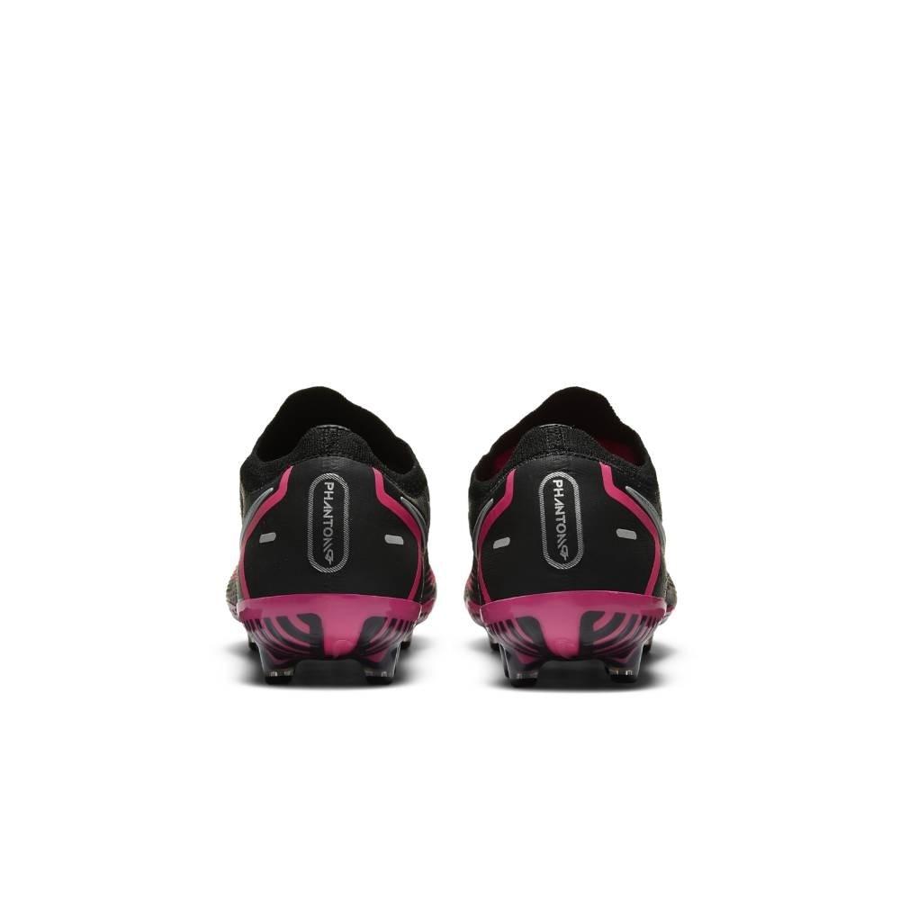 Nike Phantom GT Elite AG-Pro Fotballsko Sort/Rosa