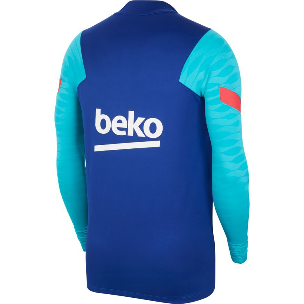 Nike FC Barcelona Dry Strike Treningsgenser 20/21 Blå