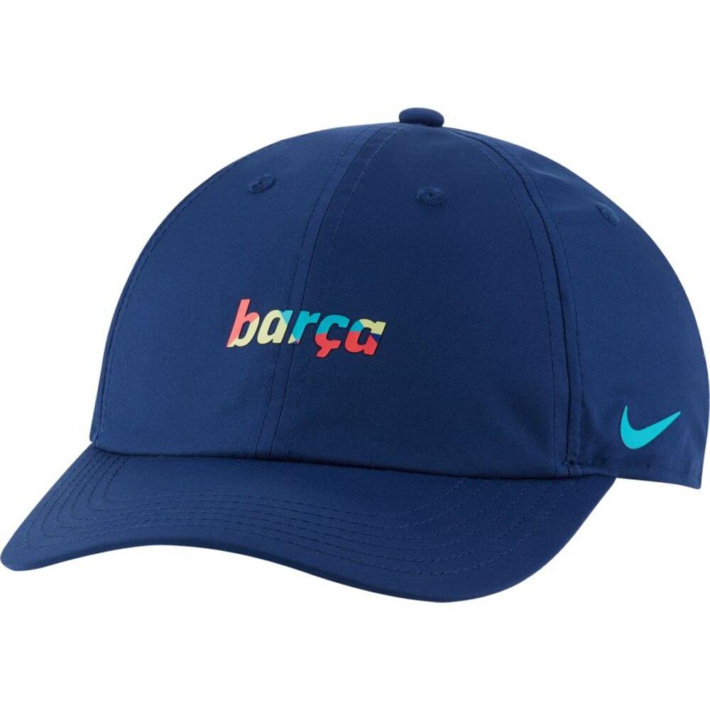 Nike FC Barcelona H86 Dry Caps Barn Blå