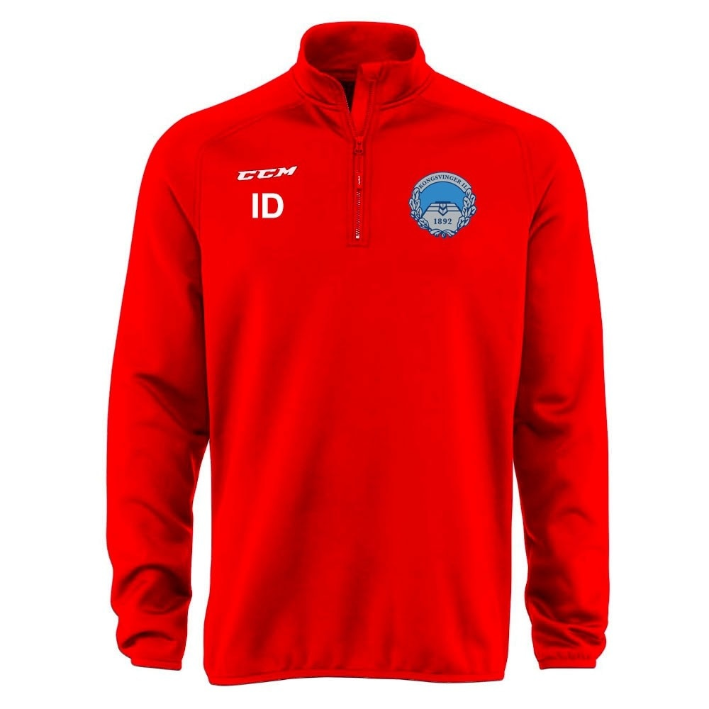 Ccm Kongsvinger Hockey Locker Room Half Zip Genser